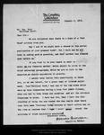 Letter from Frances Duncan to John Muir, 1905 Jan 6.