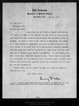 Letter from Irving Fisher  to John Muir, 1905 Nov 10 .