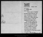 Letter from Frances Duncan to John Muir, 1905 Feb 7.