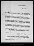 Letter from Marcus Benjamin to John Muir, 1905 Jun 19.