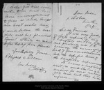 Letter from Abbigaill Allen to [John Muir], 1905 Oct 9. by Abbigaill Allen