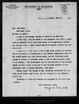 Letter from Maguel Estudillo to John Muir, 1905 Mar 1.