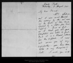Letter from Melville B. Anderson to [John Muir], 1905 Aug 9.