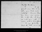 Letter from Arthur Elston to John Muir, 1905 Feb 17.