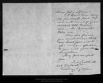 Letter from Ina Coolbrith to John Muir, 1905 Aug 24.