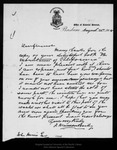 Letter from F. Manson Bailey to [John Muir], 1904 Aug 22.