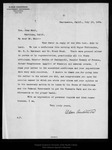 Letter from Alden Anderson to John Muir, 1904 Jul 15. by Alden Anderson