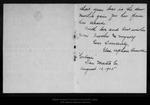 Letter from Elsa Upham Arnold to John Muir, Wanda & Helen [Muir], 1905 Aug 10.