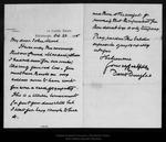 Letter from David Douglas to John Muir, 1905 Oct 23 .