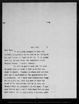 Letter from [Charles F. Lummis] to John Muir, [190]5 Apr 11.