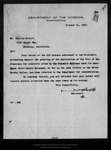 Letter from James R. Garfield to Charles Keeler, 1907 Oct 31.