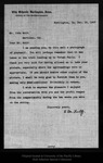 Letter from F. M. Fultz to John Muir, 1907 Dec 18.