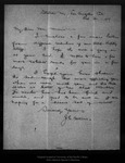 Letter from J. E. Calkins to John Muir, 1907 Oct 31.