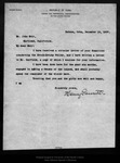 Letter from Henry gannett to James R. Garfield, 1907 Dec 14.