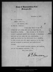 Letter from A[lbert] F. Dawson to J. E. Calkins, 1907 Dec 9.