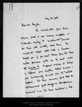 Letter from Bayley Balfour to Mr. Douglas, 1908 May 30.