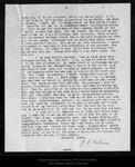 Letter from J. E. Calkins to Col. Sellers, 1908 Mar 23.
