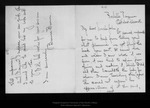 Letter from Bernice Brown to John Muir, [ca. 1909] Oct 11. by Bernice Brown