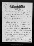 Letter from Clara Barrus to John Muir, 1909 Mar 14. by Clara Barrus