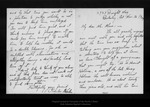 Letter from Charlrs [A.] Keeler to John Muir, 1909 Nov 16. by Charlrs [A.] Keeler