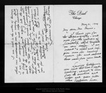 Letter from Francis F. Browne to John Muir, 1909 May 21. by Francis F. Browne