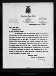 Letter from Henry G. Bryant to John Muir, 1909 Nov 8. by Henry G. Bryant