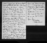 Letter from Betty Averell to John Muir, [1911 ?] Mar 27. by Betty Averell