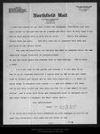 Letter from Alice [Spencer H. Jones] to John Muir, 1911 Apr 25. by Alice [Spencer H. Jones]