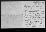 Letter from [Charlotte and Vernon] Kellogg to John Muir, 1911 Jan 17. by [Charlotte and Vernon] Kellogg