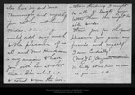 Letter from Augusta Ackinson to John Muir, 1911 Mar 27. by Augusta Ackinson