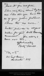 Letter from Betty Averell to John Muir, [1911 ?] Jul 10. by Betty Averell