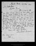 Letter from Melville B. Anderson to John Muir, 1914 Feb 19.
