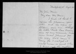 Letter from Florence Boyce Davis to John Muir, 1914 Aug 10.