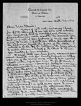 Letter from C[harles] W[alter] Carruth to John Muir, 1914 Oct 20.