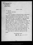 Letter from W[illia]m W. Morrow to John Muir, 1914 Oct 6. by W[illia]m W. Morrow