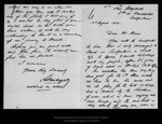 Letter from L. Barbezat to John Muir, 1914 Aug 15.