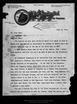 Letter from Nelson F. Evans to John Muir, 1914 Jun 13.