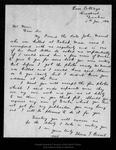 Letter from Thomas T. Bisset to John Muir, 1914 Jan 5.