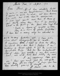 Letter from Melville B. Anderson to [John Muir], 1914 Apr 12.