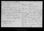 Letter from Florence Boyce Davis to John Muir, 1914 Jul 22.