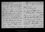 Letter from Augusta Ackinson to John Muir, 1914 Jan 26. by Augusta Ackinson
