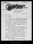 Letter from Nelson F. Evans to John Muir, 1914 Mar 10.