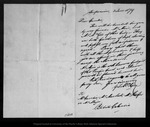 Letter from G. S. Mackey to [?] Cambie, 1879 Jun 2.