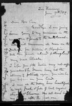 Letter from John Muir to [Jeanne C.] Carr, 1879 Jun 19.