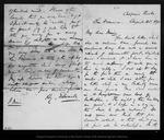 Letter from H[enry] Edwards to John Muir, 1871 Aug 25.