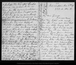 Letter from Julia M[errill] Moores to John Muir, 1886 Nov 15.
