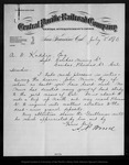Letter from A. N. Towne to A. W. Kaddie, 1876 Jul 5.