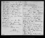 Letter from A[sa] Gray to John Muir, 1876 Jul 14.