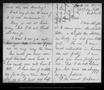 Letter from Janet [Douglass Moores] to John Muir, 1887 Mar 1.