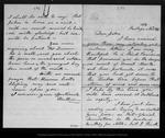 Letter from Mother [Ann Gilrye Muir] to John Muir, 1874 Nov 21.